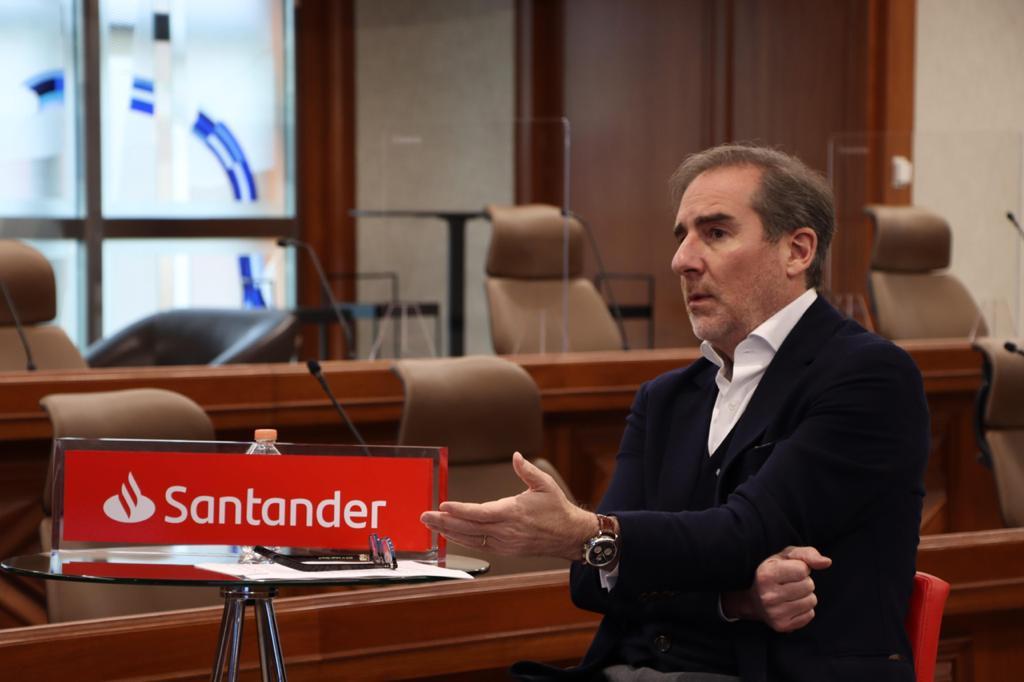 Recuperación económica vendrá hasta 2022 o 2023: Santander