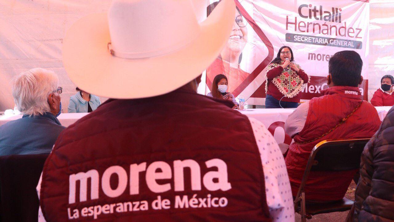 Morena, el 'ganón' en CDMX para gastos de campaña 2021