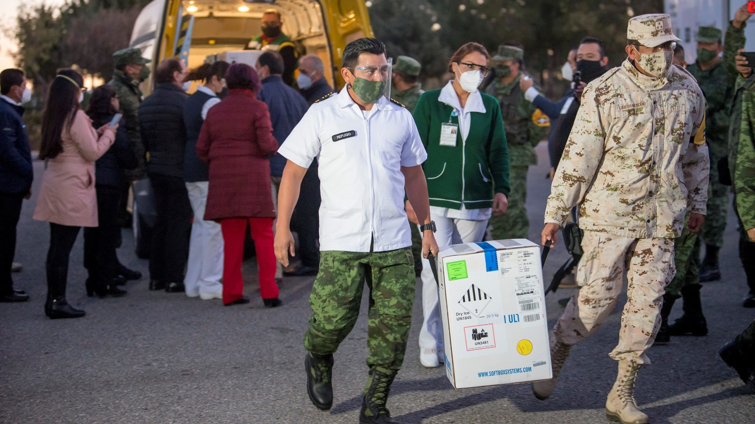 Coahuila empieza vacunación contra Covid-19