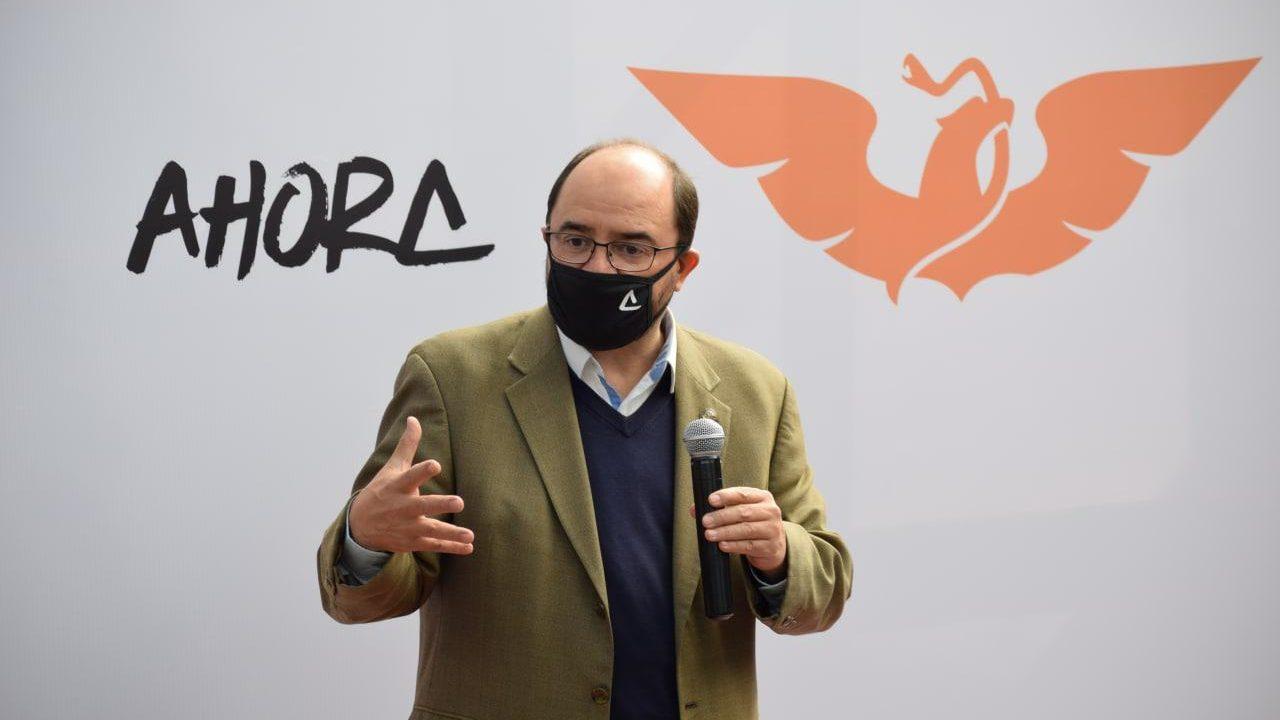 Organización de Álvarez Icaza, abierta para aliarse con MC, PAN y hasta Morena