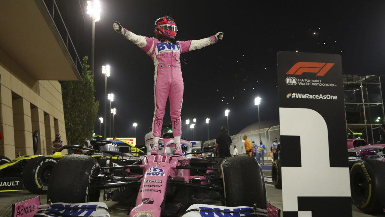 'Checo' Pérez llega al equipo de Red Bull para la temporada 2021