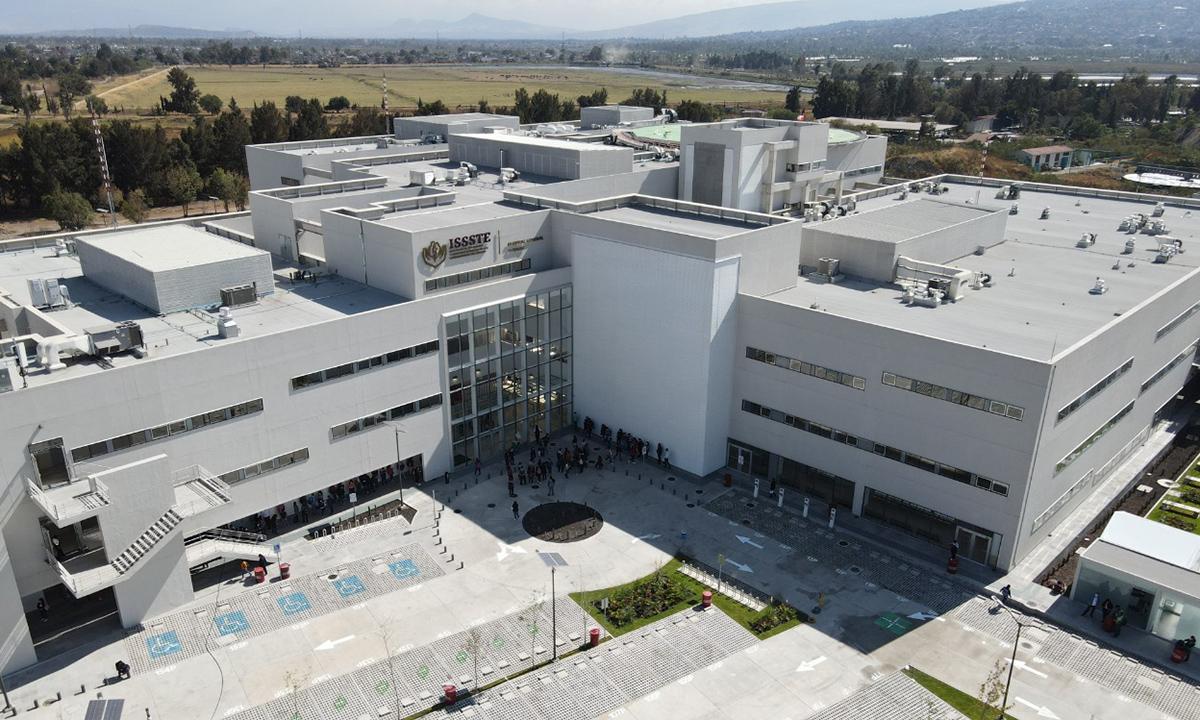 Nuevo Hospital del ISSSTE Tláhuac, listo para atender Covid