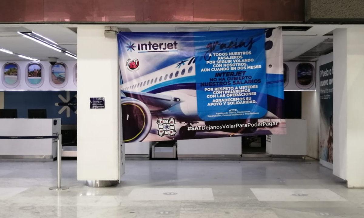 Interjet adeuda 363 mdp por servicios de navegación aérea en México