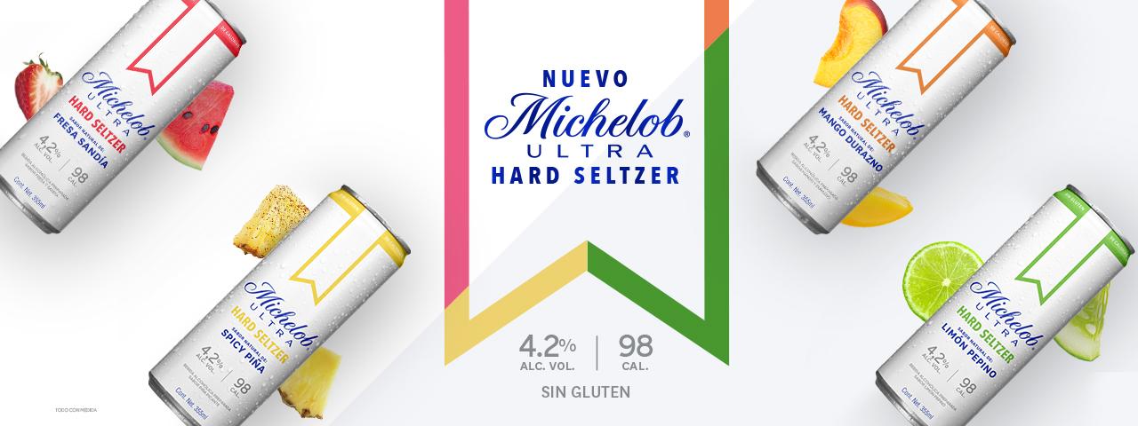 Michelob Ultra, hard seltzer,