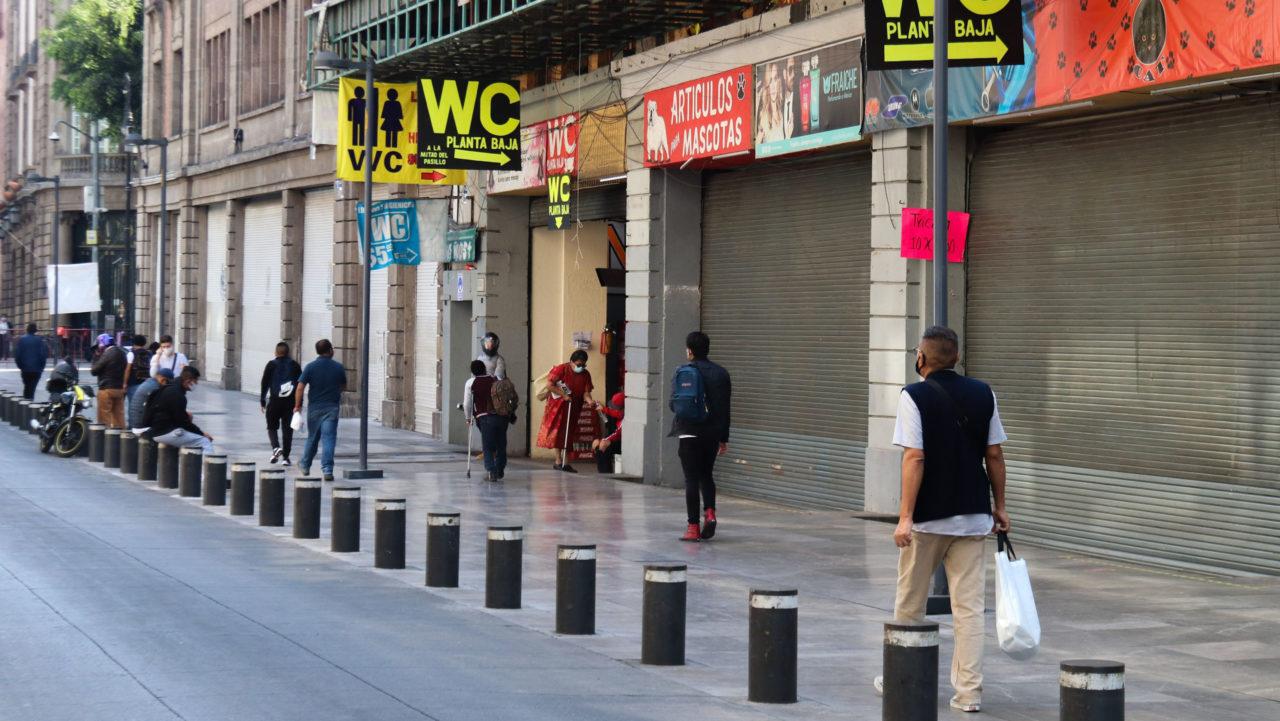 Pequeño comercio exige reactivación de actividades en CDMX, ante la posible quiebra de 50,000 negocios