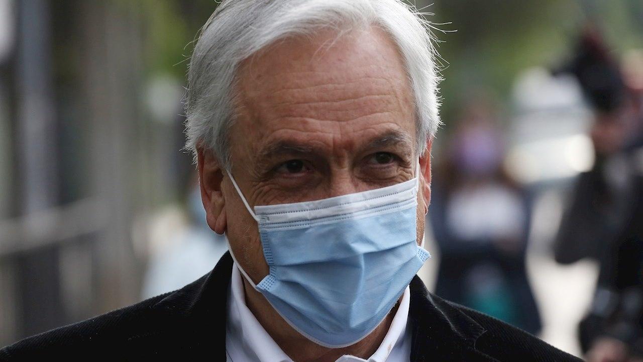Presidente de Chile se denunciará a sí mismo por pasear sin cubrebocas