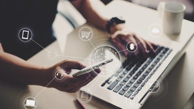 comercio electrónico, compra digital