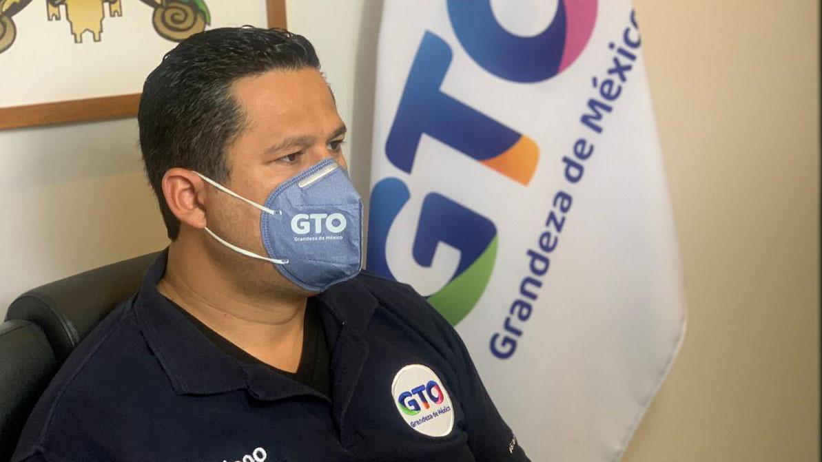 Gobernador de Guanajuato fue internado por Covid