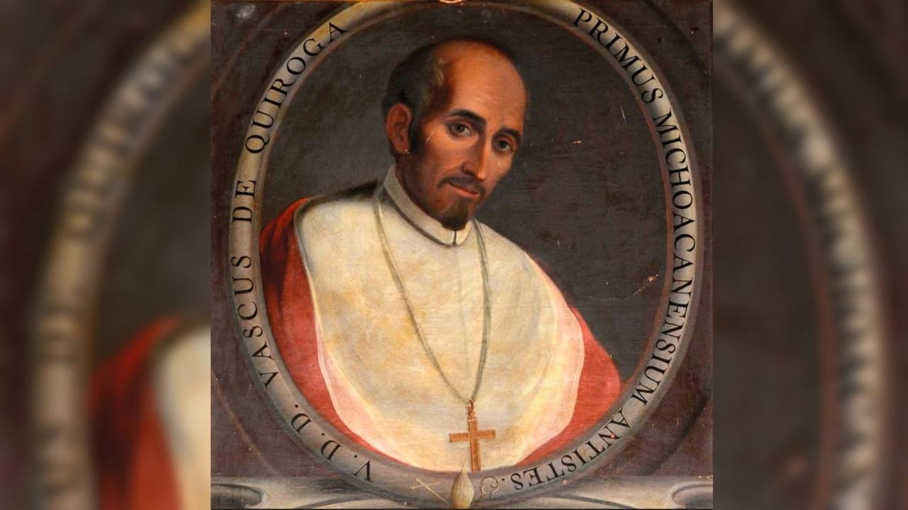 Papa abre camino a beatificación de Vasco de Quiroga