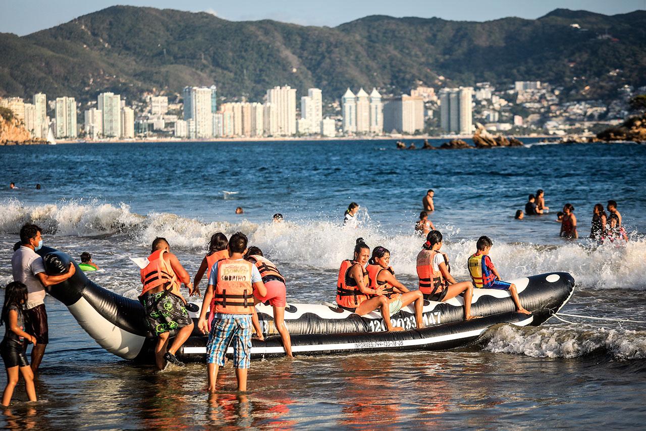 Guerrero regresa a semáforo rojo por aumento de contagios de Covid-19