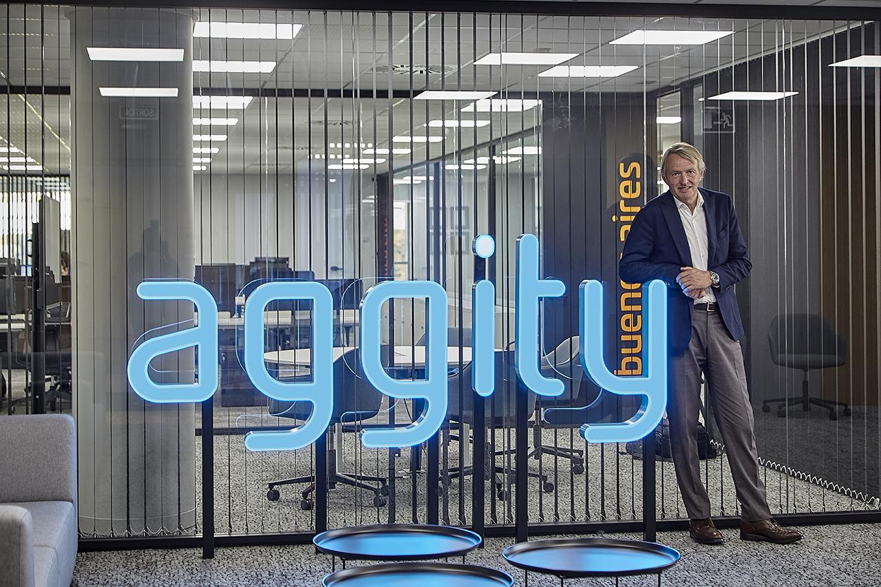 Óscar Pierre, presidente y CEO de aggity
