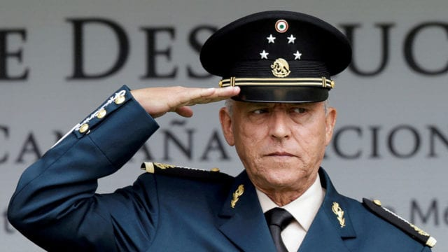 Mexico's former defense Minister General Salvador Cienfuegos