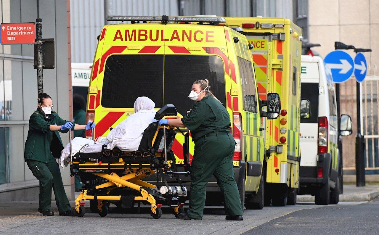 Reino Unido registra el mayor número de muertes desde la II Guerra Mundial