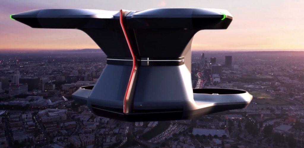 General Motors auto volador