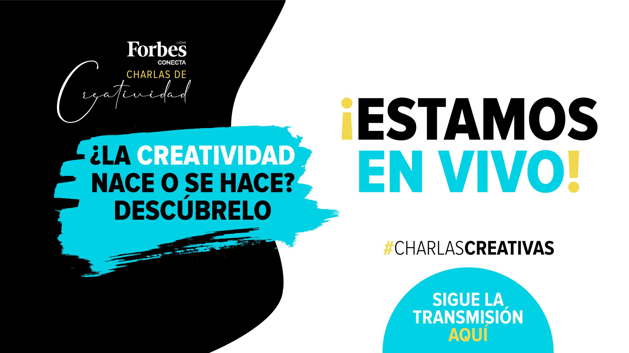 EN VIVO | ¿La creatividad nace o se hace? Descúbrelo en #CharlasCreativas