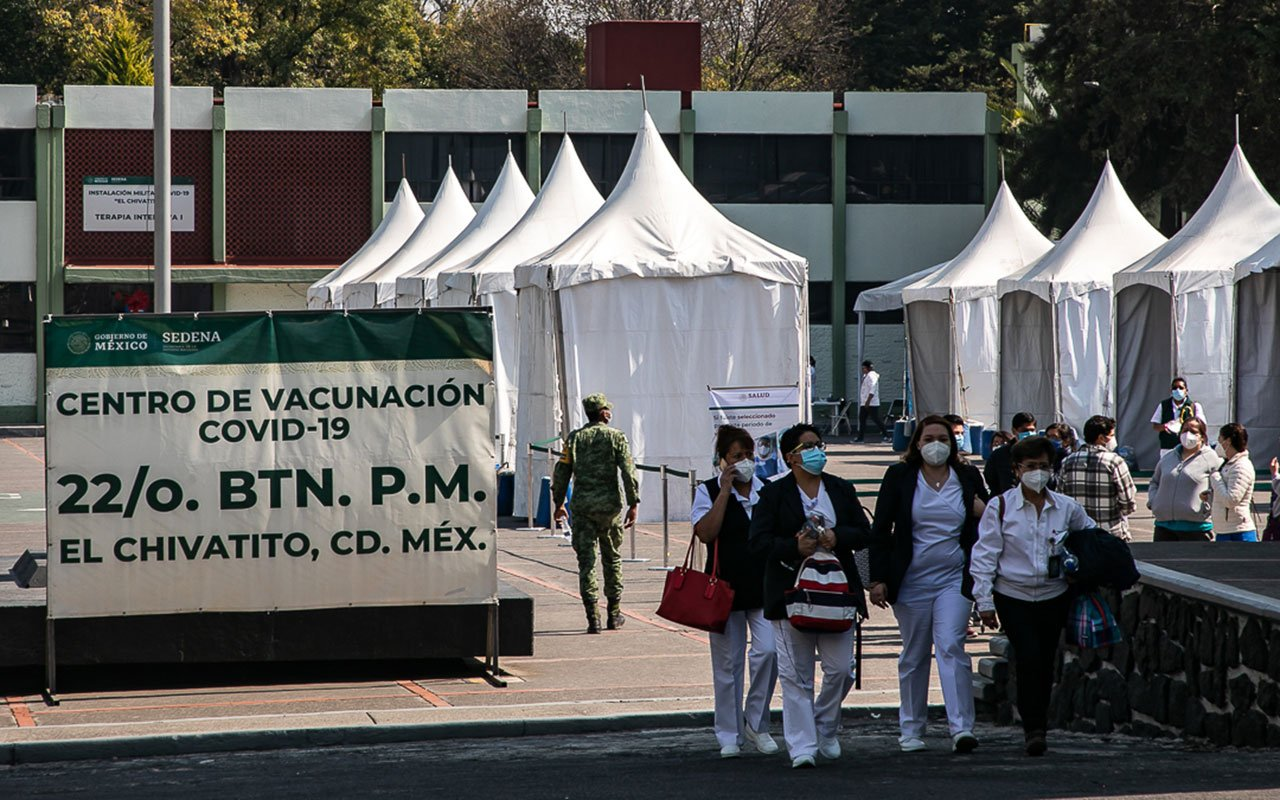 Centro de vacunacion Covid 19 Chivatito 3