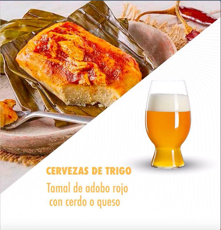 cerveza maridaje tamales