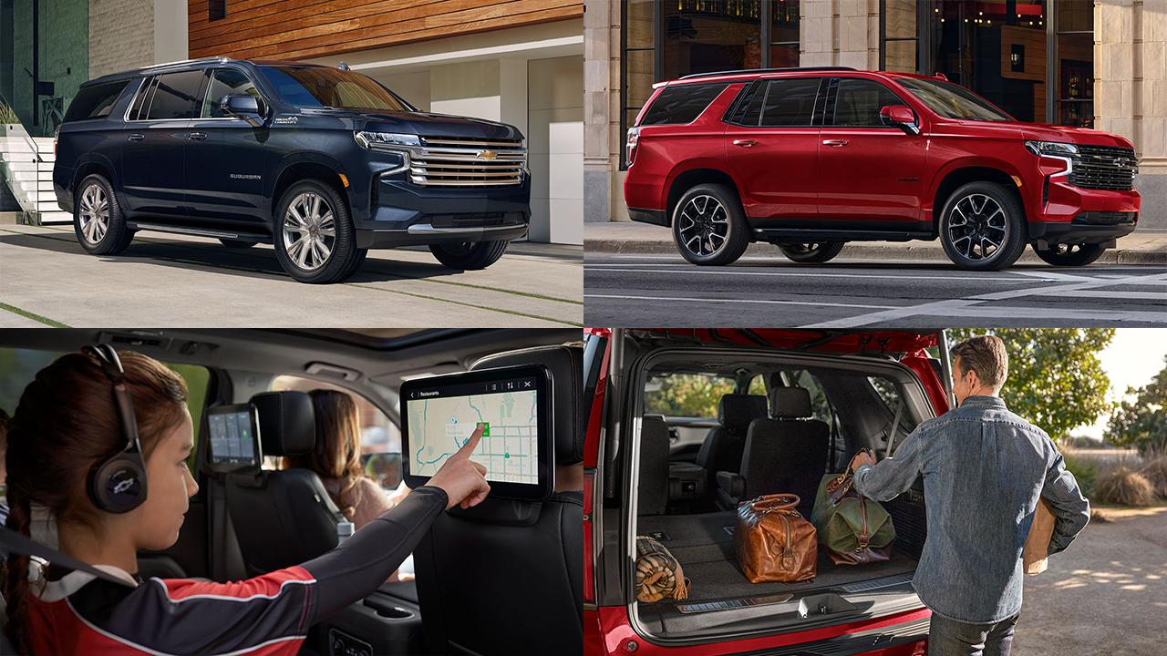 Nuevas Chevrolet Suburban y Tahoe 2021: lo que llevas dentro, te hace grande afuera