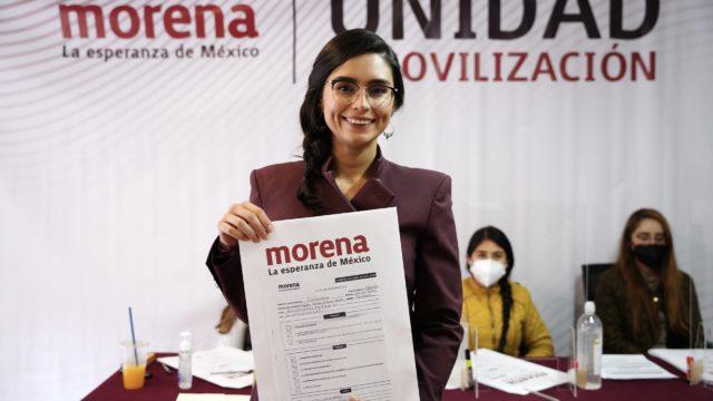 Morena SLP PAloma Aguilar