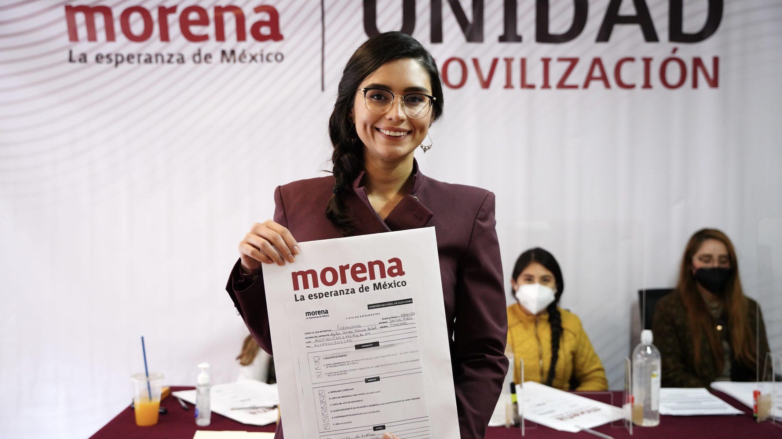 Exescolta de AMLO y extitular de Salud van por candidatura de Morena en SLP