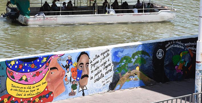 Sedatu invertirá 2 mil mdp para dejar malecón de Villahermosa 'como de París o Roma'