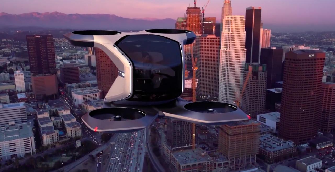 Así imagina General Motors que serán los autos voladores