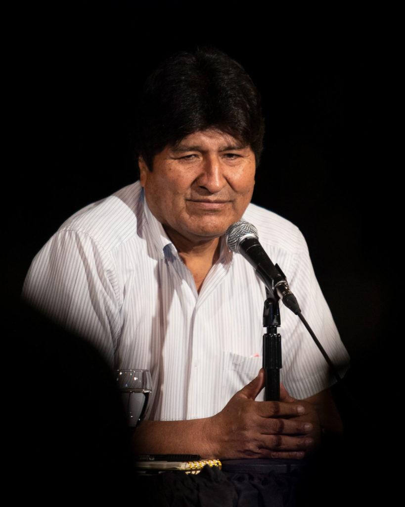 Evo Morales Press Conference