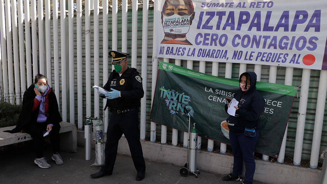 México acumula 3,098 contagios y 450 muertes por Covid-19 en 24 horas
