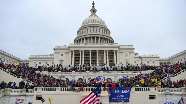 Asalto al Congreso Supporters of U.S. President Donald Trump gather in Washington