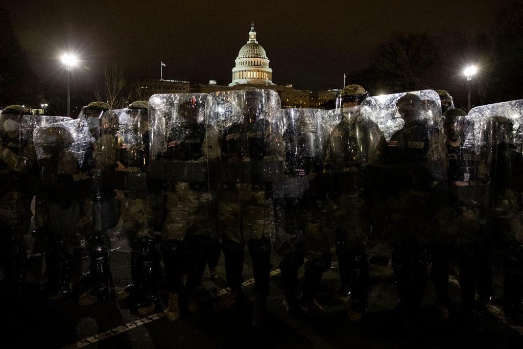 Asalto al Congreso Supporters of U.S. President Donald Trump gather in Washington