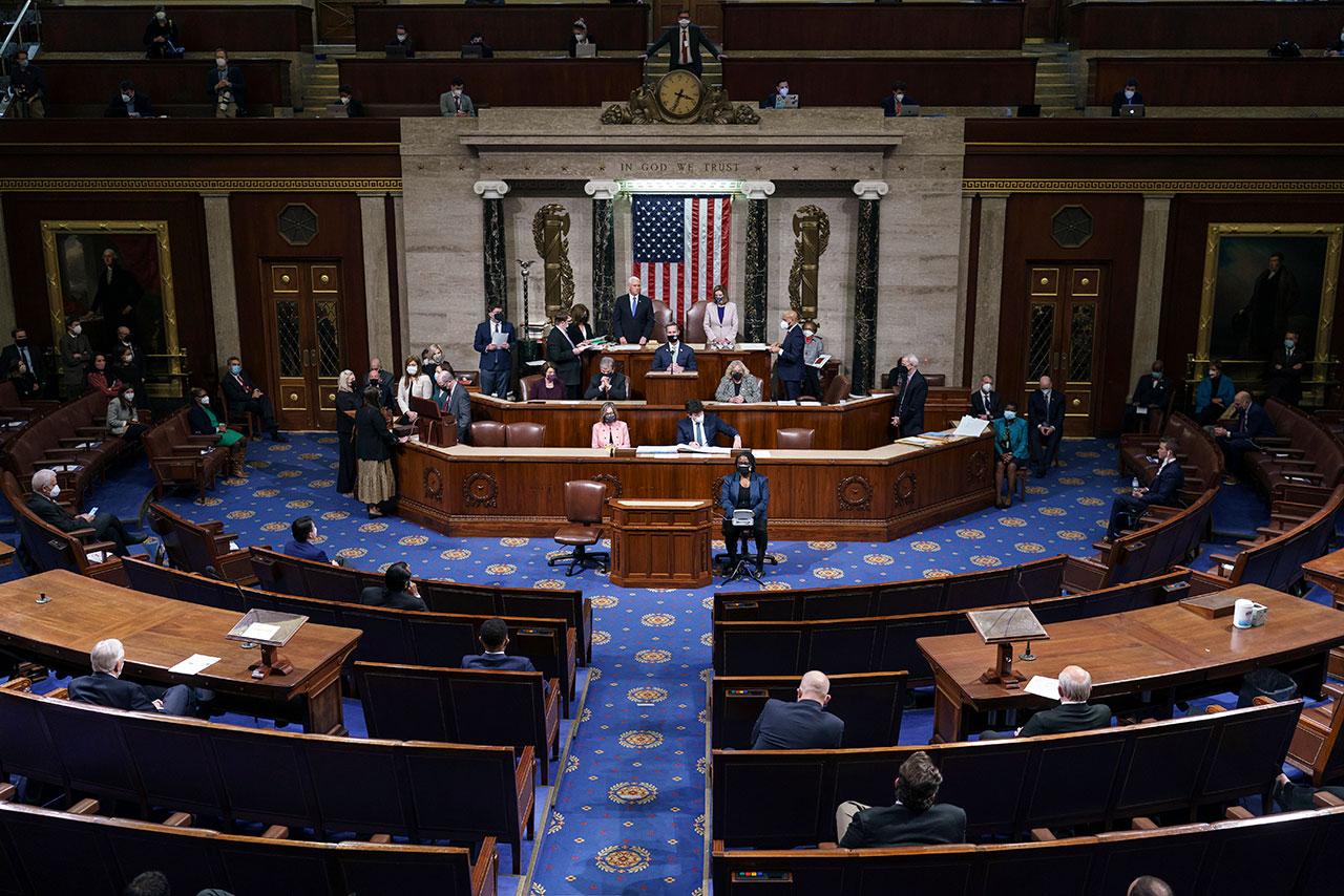 Demócratas ofrecen ley para frenar poder presidencial  tras gobierno de Trump