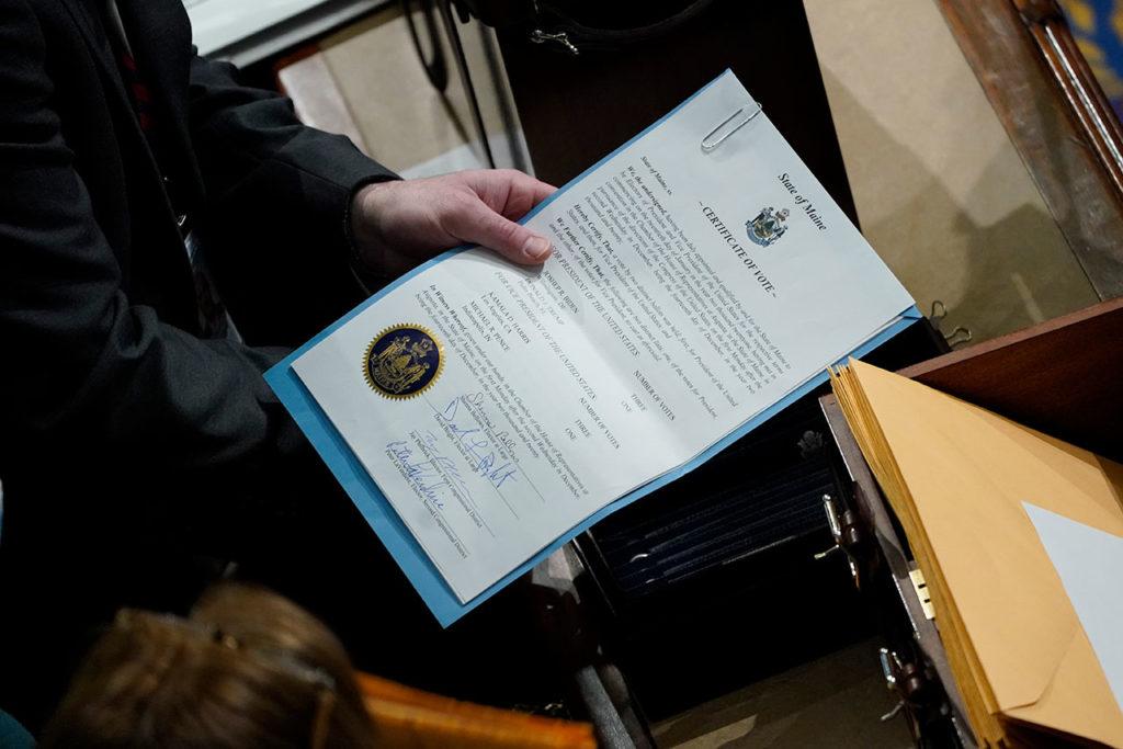 Congreso de EU ratifica Baiden