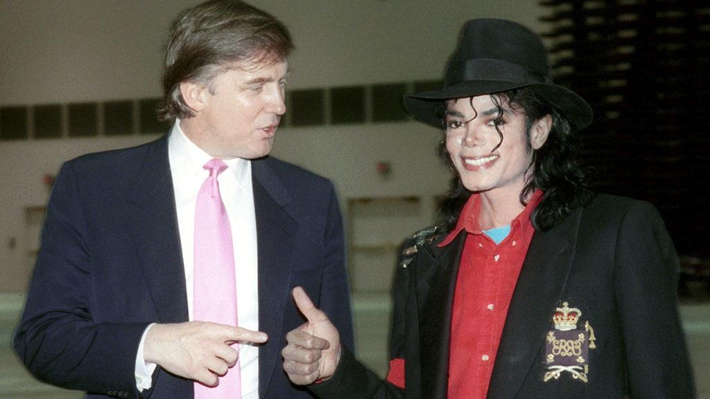 Michael Jackson Tours the Donald Trump Taj Mahal Hotel & Casino