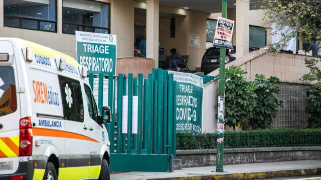 Hospitales gente paramedicos Covid 19 2