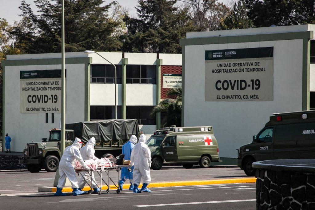 Hospitales gente paramedicos Covid19 10