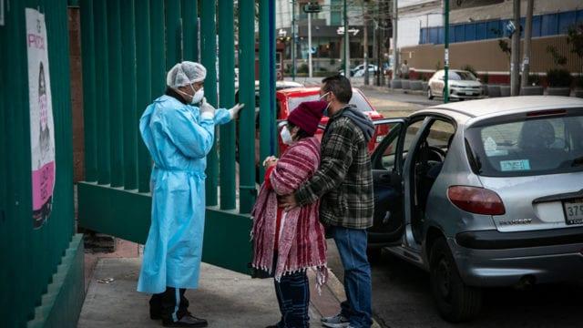 Hospitales gente paramedicos Covid19 2