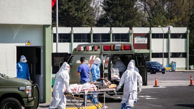 Hospitales gente paramedicos Covid19 9