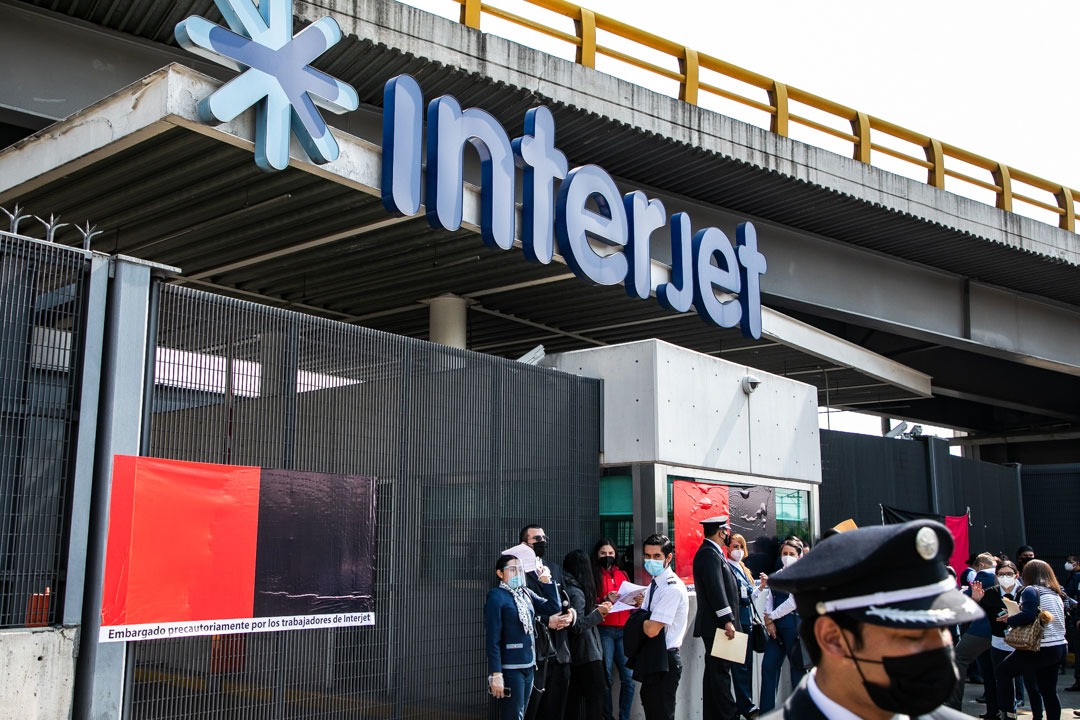 Accionistas de Interjet aprueban ir a concurso mercantil