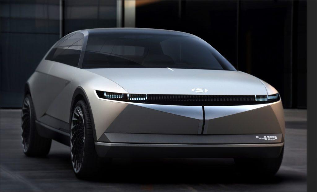 Hyundai autos concepto diseño