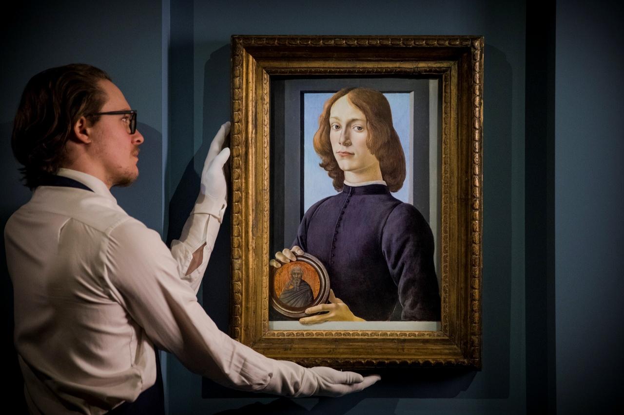 Retrato de Botticelli se vende en récord de 92.2 millones en subasta en Nueva York