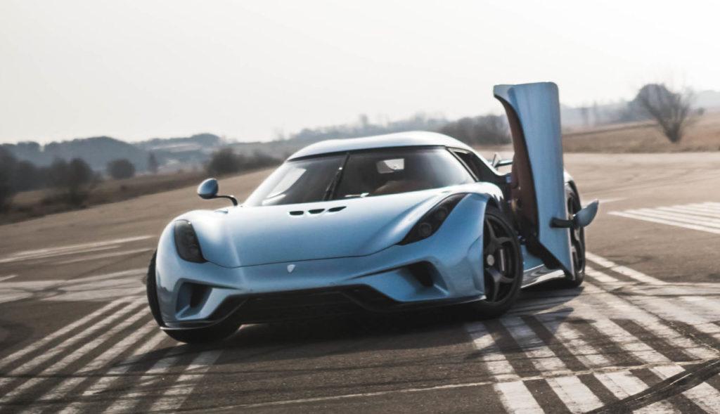Velocidad Koenigsegg regera hiperdeportivo Motores