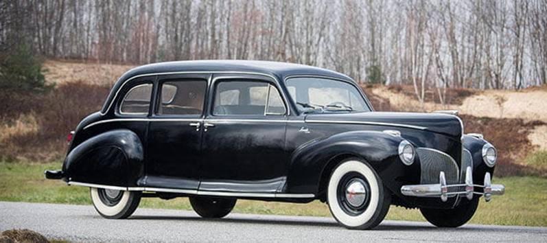 autos de la marca estadounidense,  Lincoln, que aparecen en El Padrino