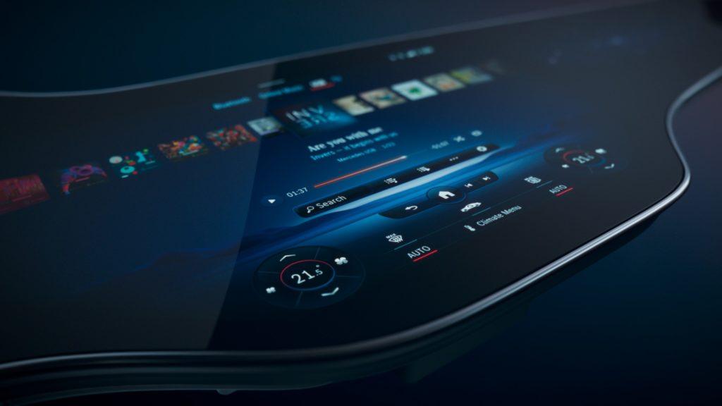 Mercedes-Benz pantalla digital