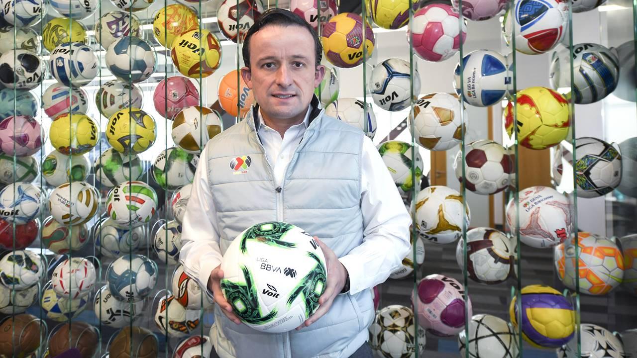 Blindar la marca de la Liga MX y generar espectáculo, ruta para más ingresos: Mikel Arriola