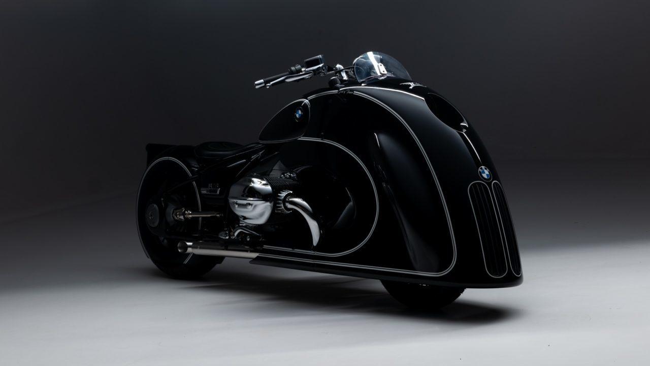 Esta es la motocicleta BMW con líneas de diseño futurista