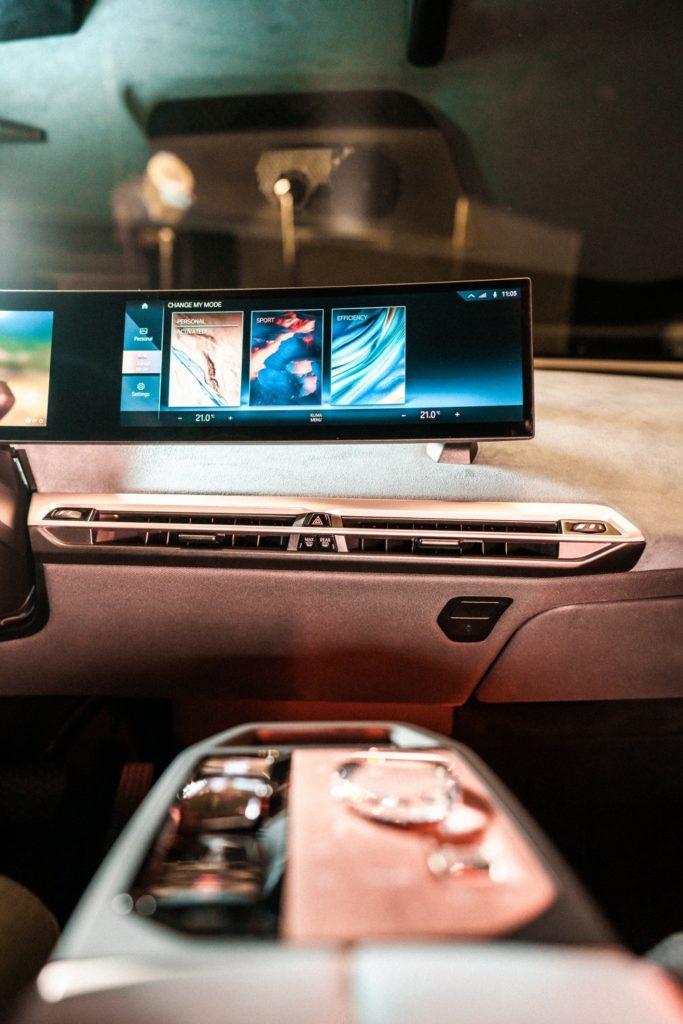 BMW vehículo iDrive