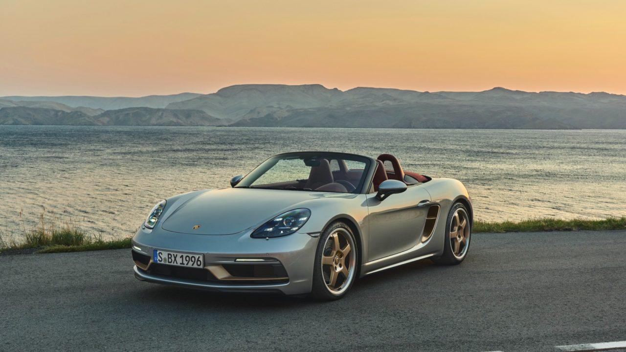 Porsche Boxster auto deportivo