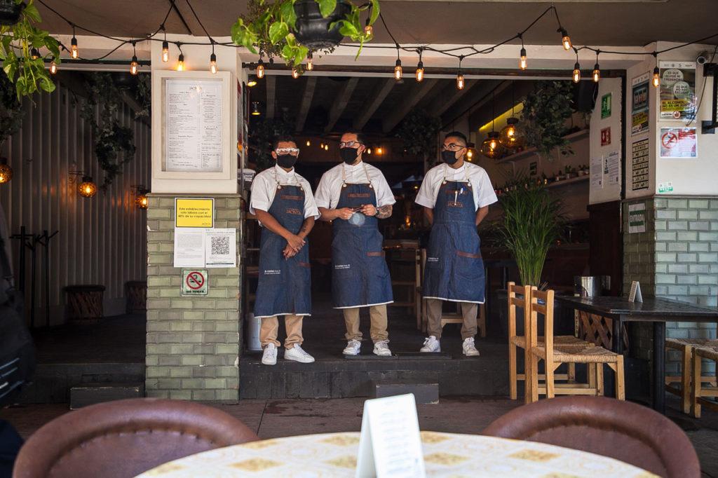 Reapertura restaurantes Semaforo rojo Covid 19 3