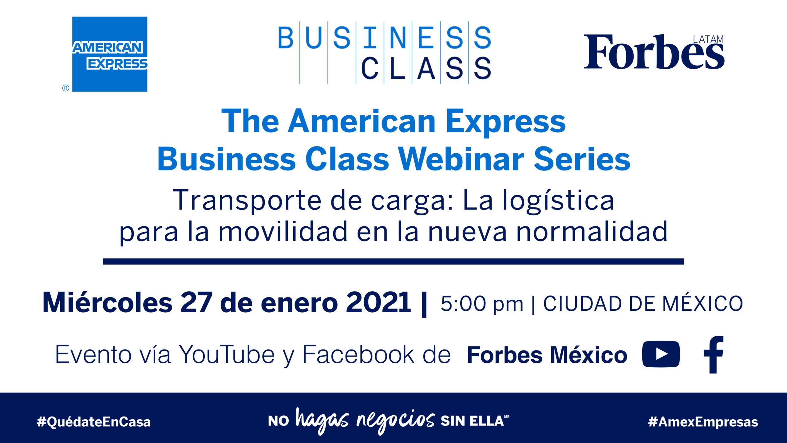 Transporte de carga: La logística para la movilidad en la nueva normalidad | AMEX Business Class