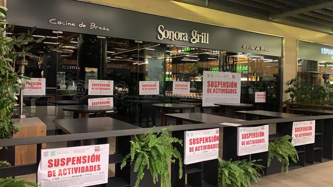 Tras abrir sus puertas en protesta, clausuran restaurante de Sonora Grill